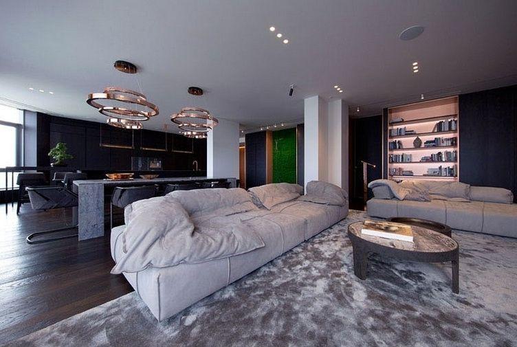 Appartement rénové avec des jolis accents déco en cuivre à ...