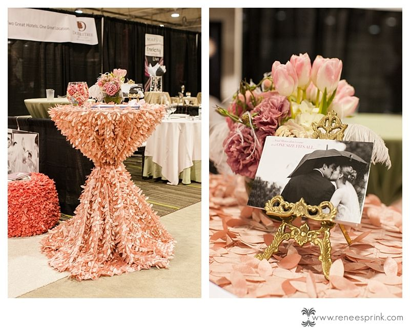 My Booth At The Southern Bridal Show Booth