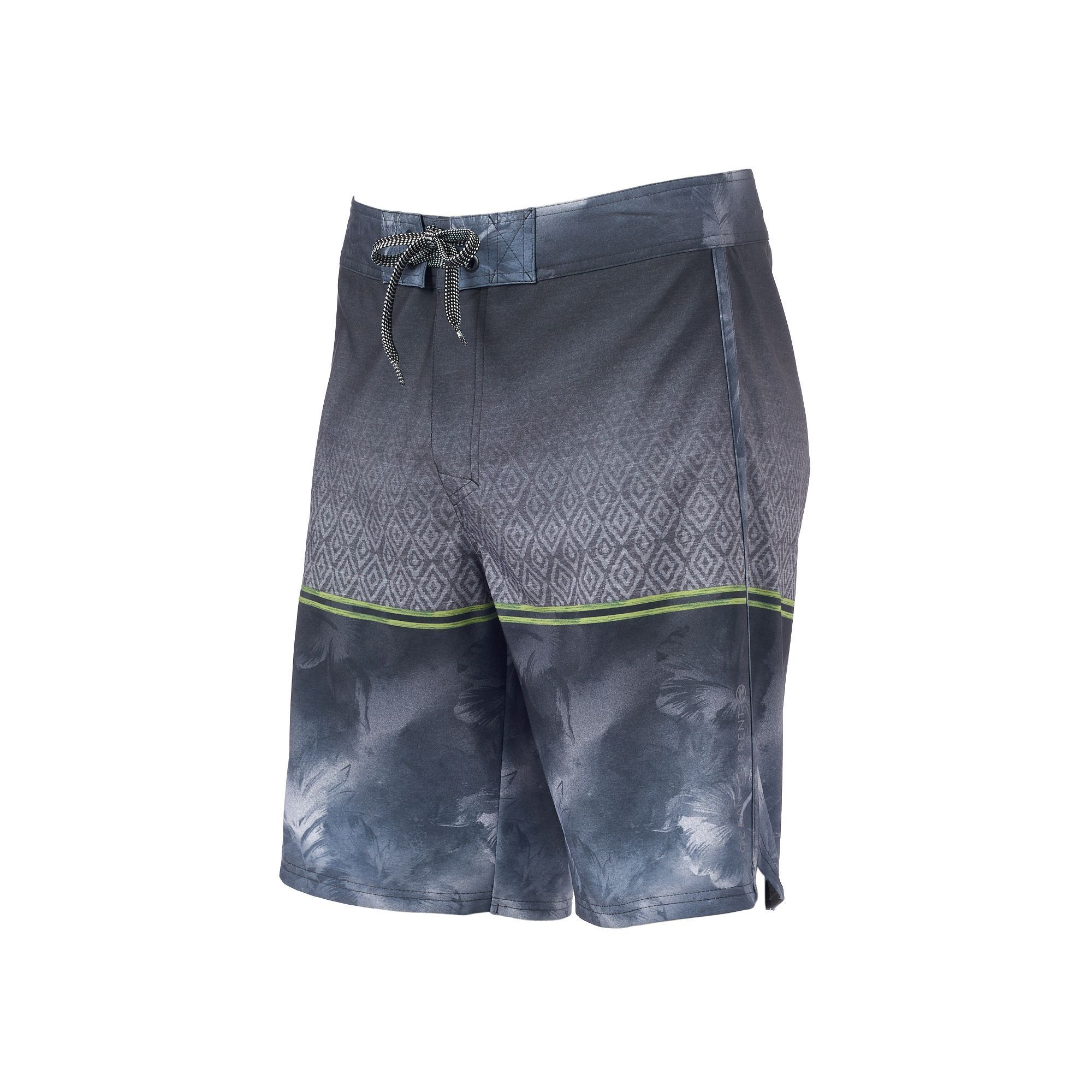 fc362220f1 Men's Ocean Current Kendrick Ombre Stretch Board Shorts, Size: 28, Med Grey