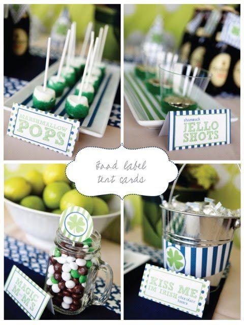 Kara's Party Ideas.  St Patricks Day