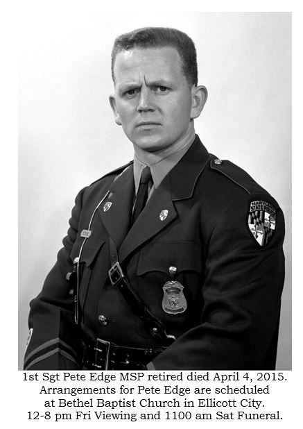 Westminster Maryland Online By Kevin Earl Dayhoff Westminster Maryland Sergeant State Police