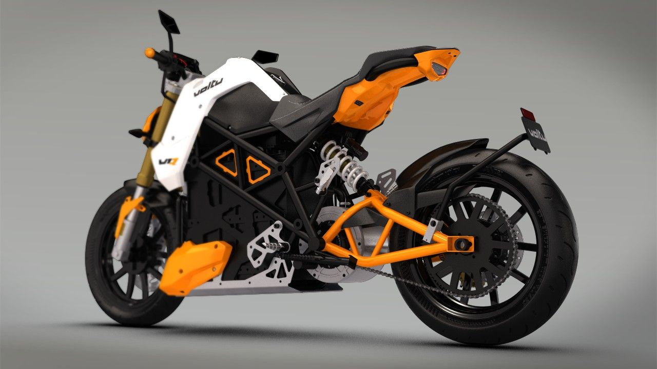 Voltu Motor Inc Motorbike Design Bike Design Electric Motorcycle