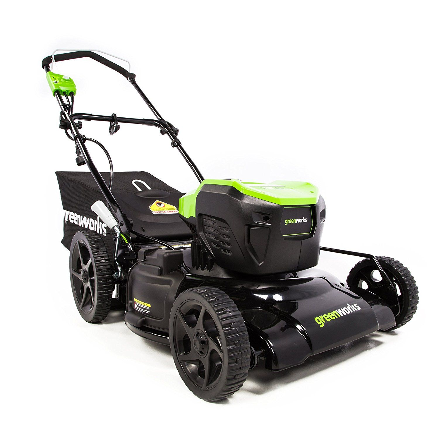 Best Riding Lawn Mower 2021 Greenworks 21 Inch 13 Amp Corded Lawn Mower MO13B00   Best Push