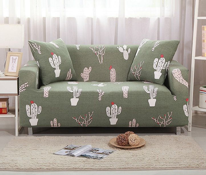 Seat Flexible Stretch Sofa Cover Big Elasticity Couch Cover Slipcover Furniture Protector Cubierta P Corner Sofa Slipcover Printed Sofa Couch Covers Slipcovers