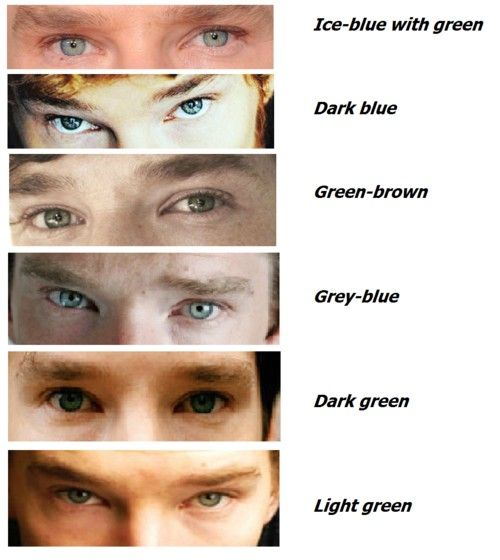 Benedict Cumberbatch's Amazing Color Changing Eyes