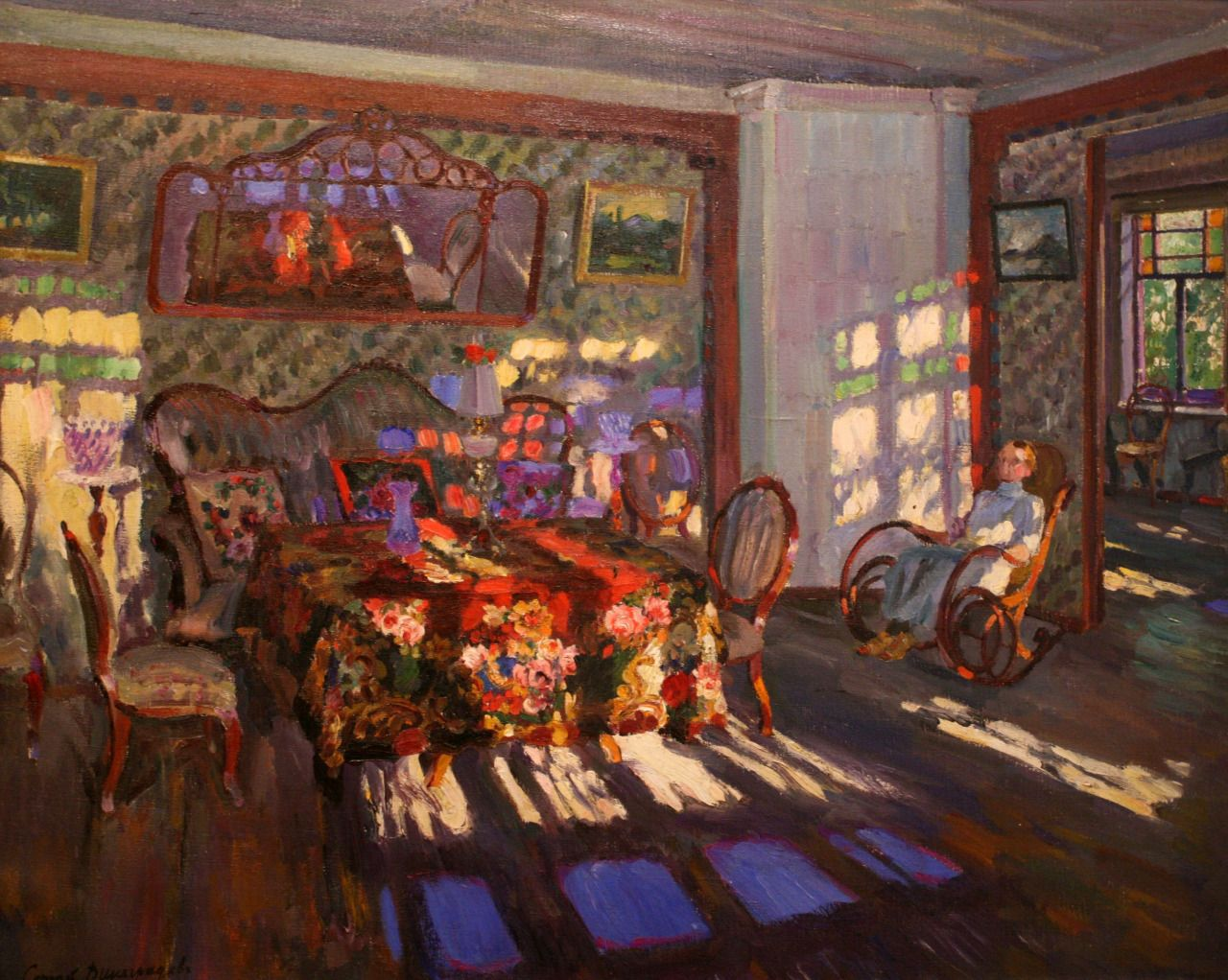 ElenaPraha — russian-style: Sergei Vinogradov - Sunshine,... | Art,  Painting, Russian painting