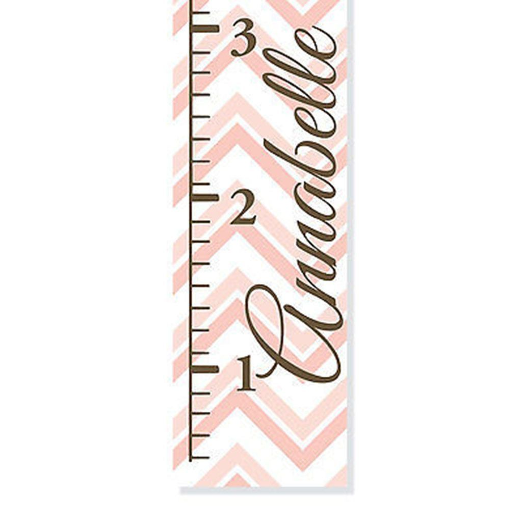Pink chevron canvas growth chart growth charts personalised large pink chevron pattern personalized canvas growth chart nvjuhfo Gallery