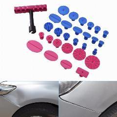 [ 29% OFF ] Tops 29Pcs Paintless Dent Repair T-Bar Puller Slide Hammer Glue Tabs Pdr Tools Pdr Dent Repair Tools T-Bar Slide Hammer Puller
