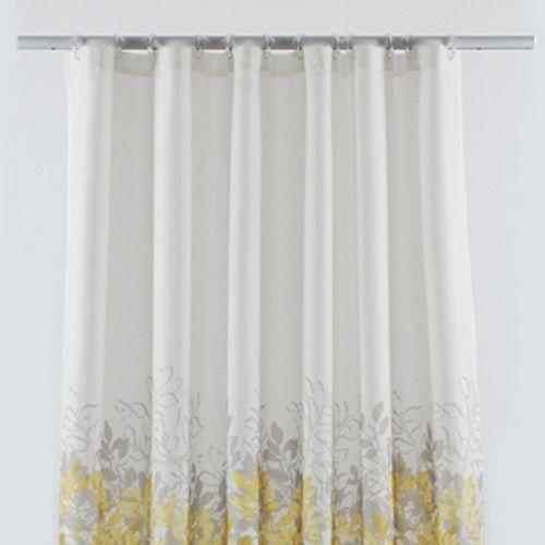 LJ Home Fashions Rainforest Grey U0026 Yellow Shower Curtain Set By LJ Home  Fashions Bedding :