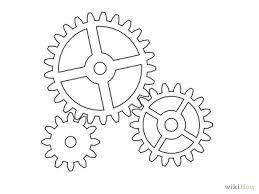 Resultado De Imagen De Plantillas Reloj Gear Drawing Gear Template Maker Fun Factory