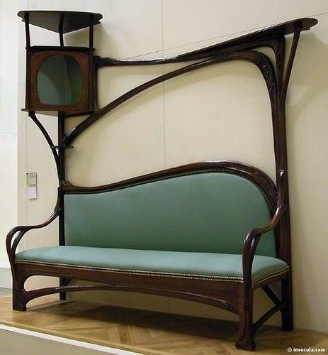 Hector Guimard, architect. the best representative of the french Art Nouveau movement