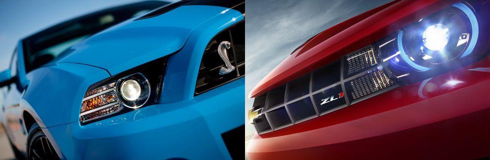 Mustang Shelby GT500 VS Camaro ZL1 ~ 4
