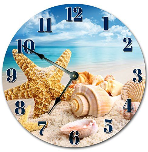 Coastal Beach Wall Clocks Beachfront Decor Wall clocks Clocks
