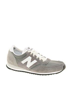 New Balance 420 Grey Vintage Trainers
