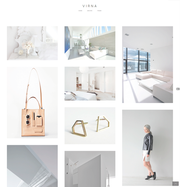 Virna Tumblr Theme  by @Graphicsauthor