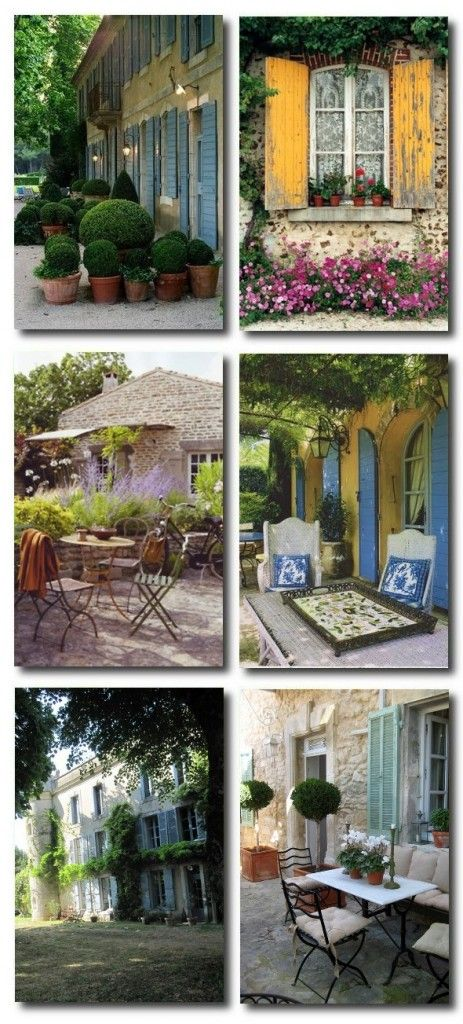 French Provence Outdoor Furniture French Garden French Country
