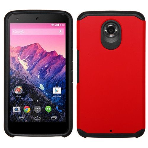 MYBAT Neo Astronoot Hybrid Google Nexus 6 Case - Red/Black