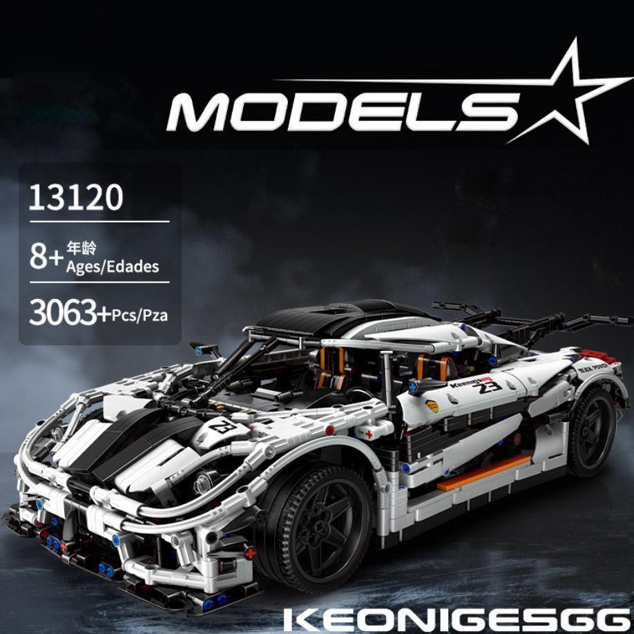 Technics 1 8 Scale Vehicle Koenigsegg Agera Building Block Super Sport Car Assembly Toys Bric In 2020 Racing Car Model Super Sport Cars Car