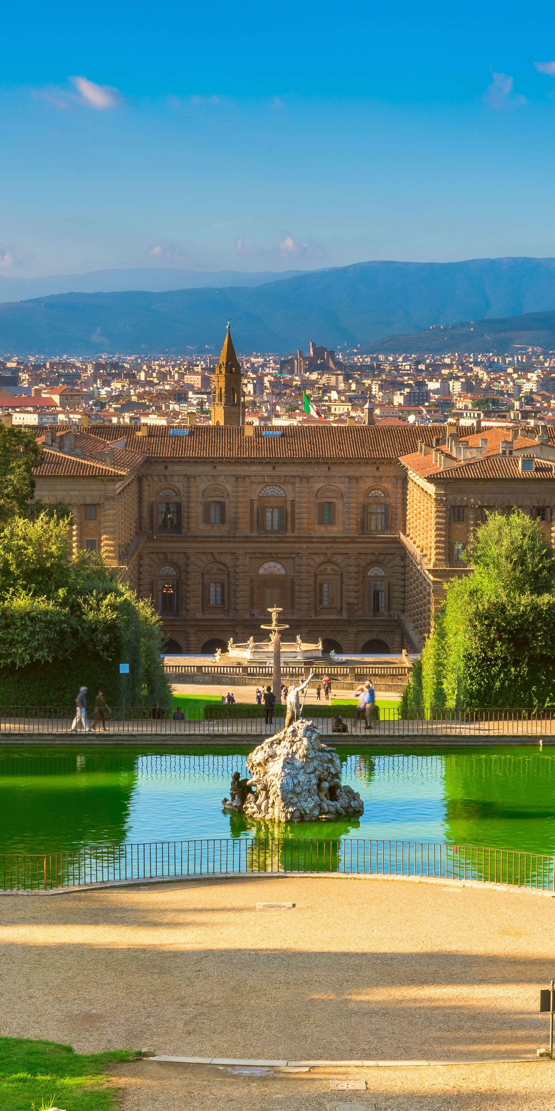 Statua dell Abbondanza Boboli gardens Florence
