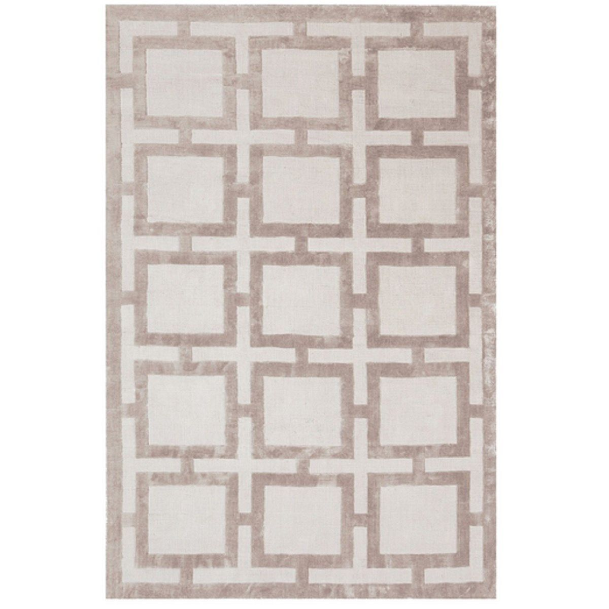 Tapis Pure Viscose Luxe Tisse Main Note Taille 120x170 Cm 175
