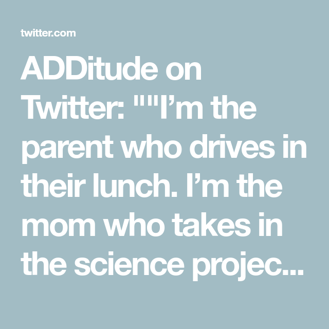 ADDitude on (With images) | Science projects, Parenting ...