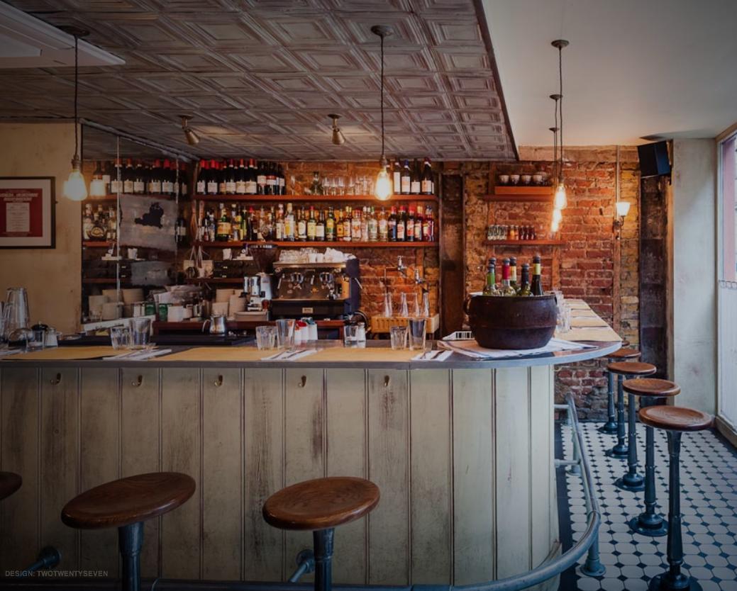 Polpo London restaurants, London design week, Tapas