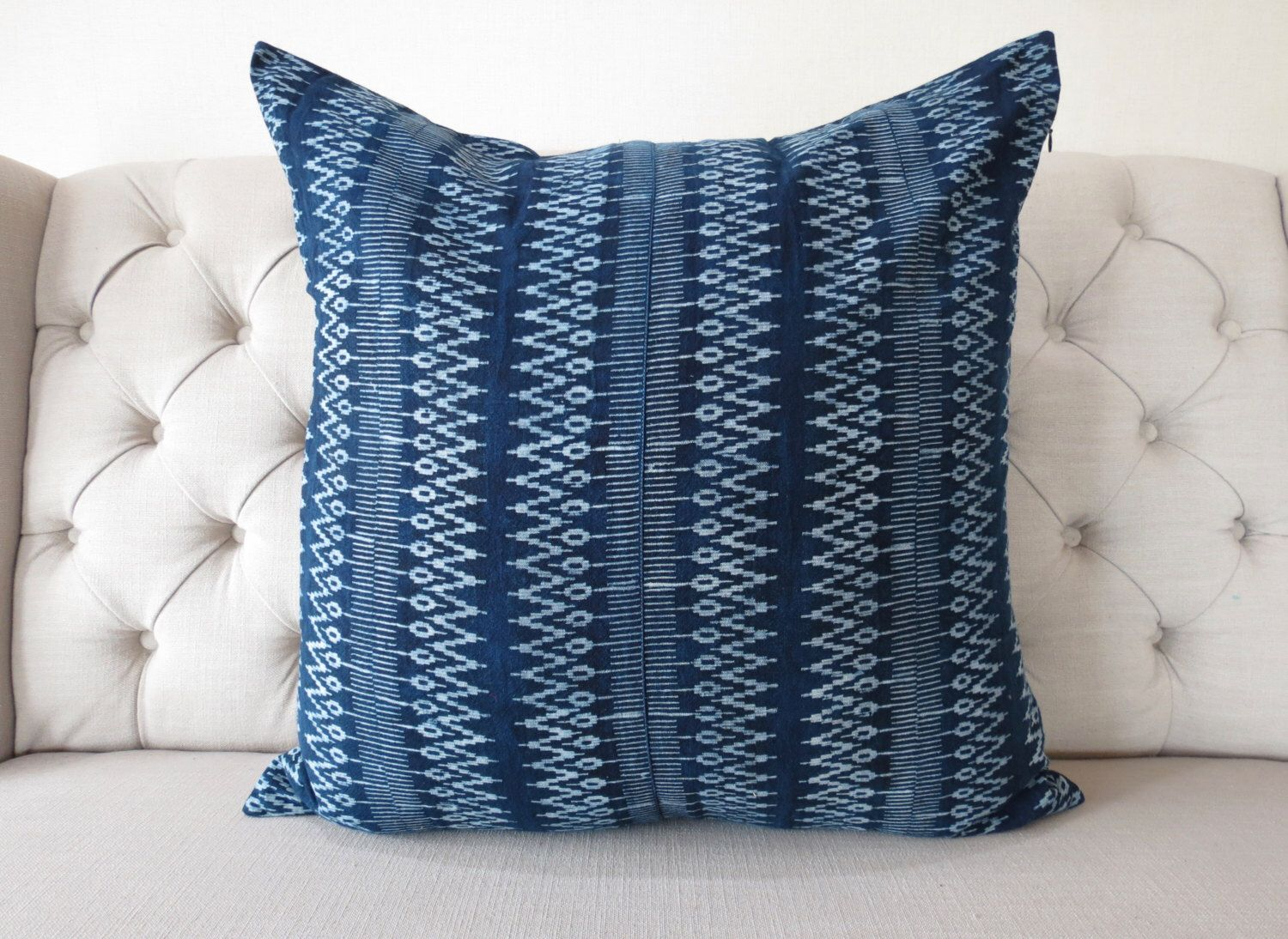 Indigo Batik 26x26, Pillow Cover- Handmade Batik Fabric,Decorative Cushion,Throw Pillow,Decorative Pillow by shopthailand on Etsy https://www.etsy.com/listing/461263518/indigo-batik-26x26-pillow-cover-handmade