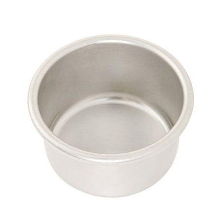 "Nordic Ware Naturals® 4"" Round Layer Cake Pan, Aluminum, Lifetime Warranty, Cooking Surface: 4"" X 4"" X 2.48"" - Walmart.com"