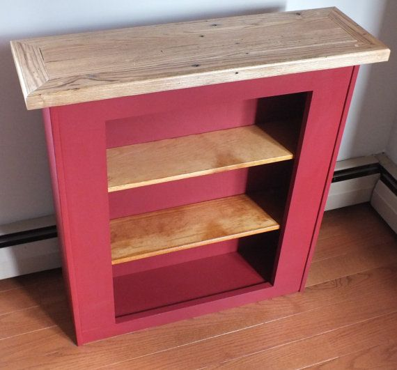 Reclaimed Pallet Wood Bookshelf Upcycle by 406Concepts on ...