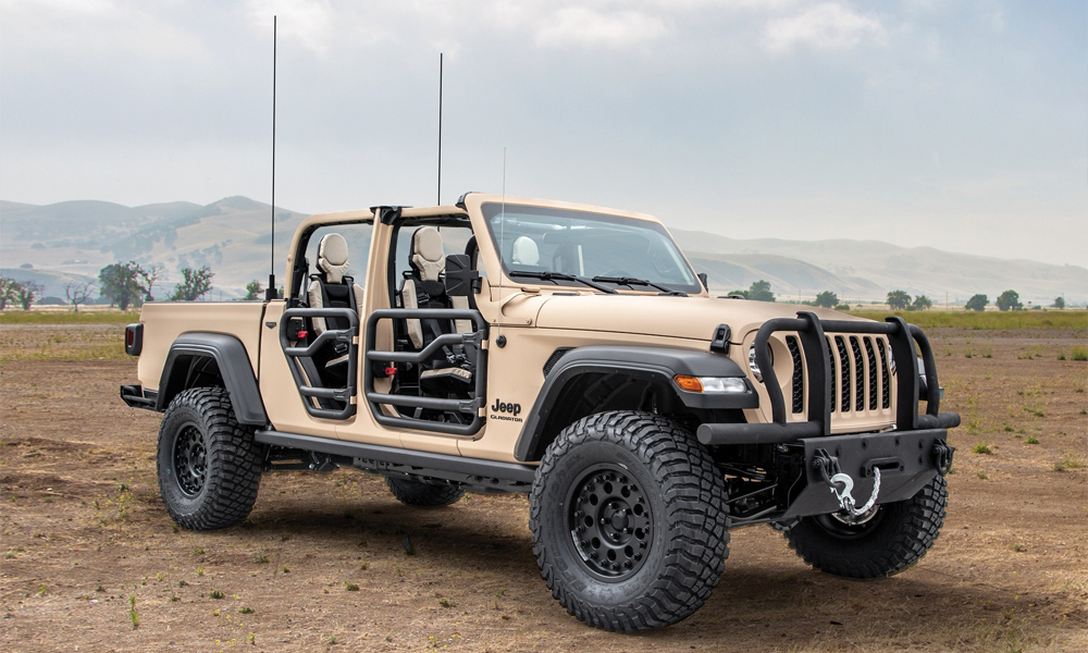 Jeep Gladiator Xmt Concept Jeep Gladiator Tactical Truck Gladiator