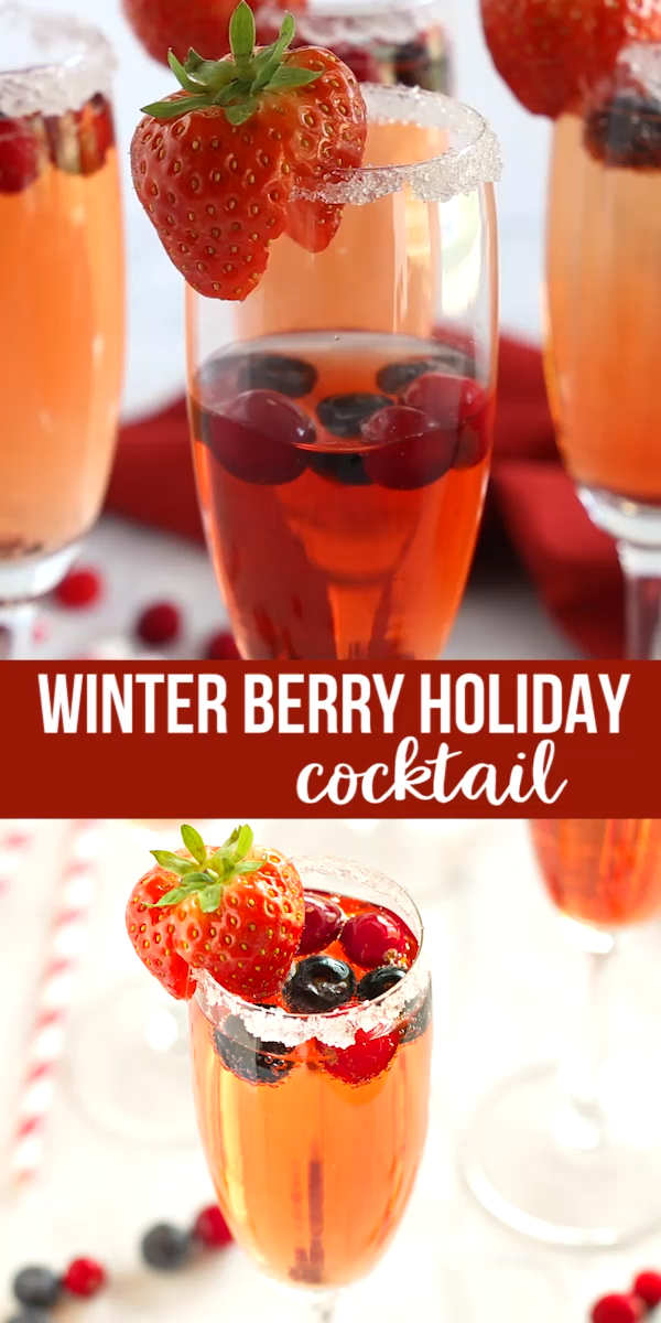 Winter Berry Cocktail