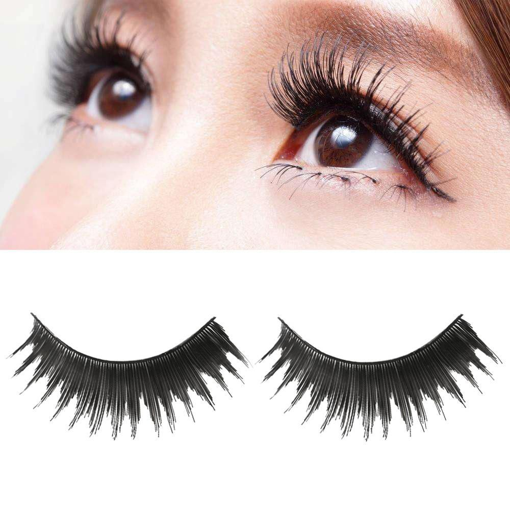 62052368742 OutTop Women False Eyelashes 1 Pair Full Strip Lashes Luxury 3D False Lashes  Fluffy Strip Eyelashes