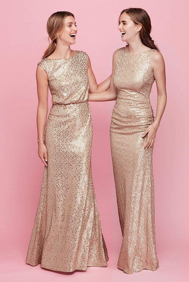 Fall Bridal Party Color Ideas | David\'s Bridal | Bridesmaid Dresses ...