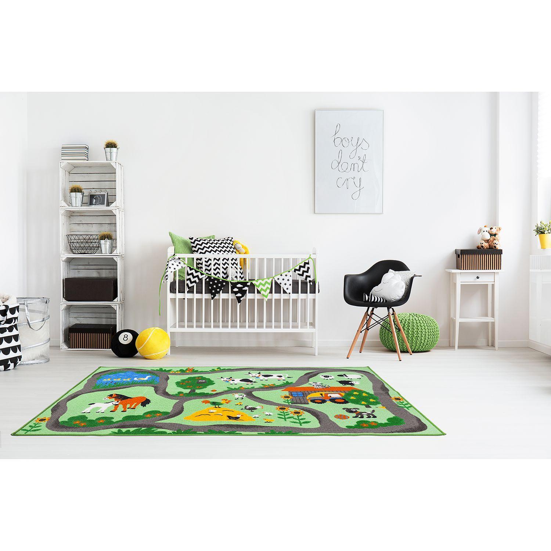 Kinderteppich Bauernhof Kinderteppiche, Kinder vorhänge
