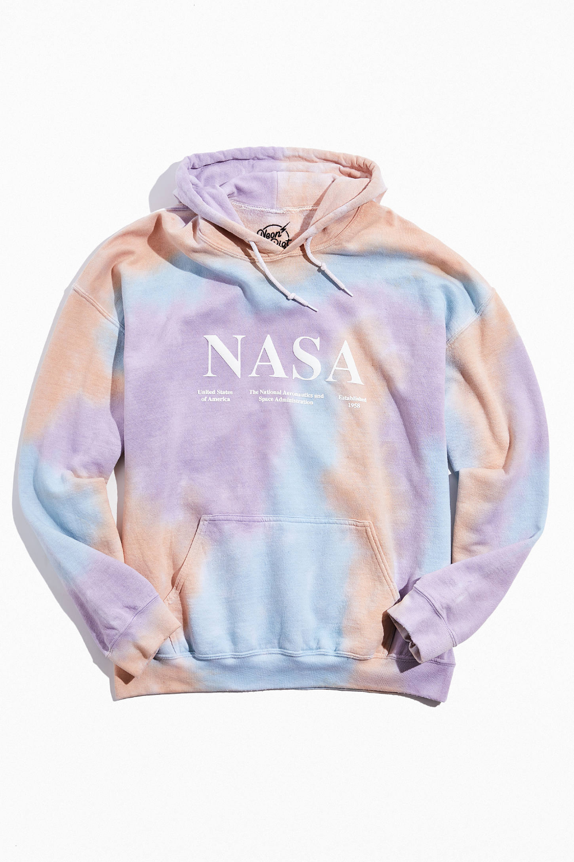 Nasa Tie Dye Hoodie Sweatshirt Nasa Clothes Nasa Hoodie Sweatshirts Hoodie [ 1500 x 1000 Pixel ]