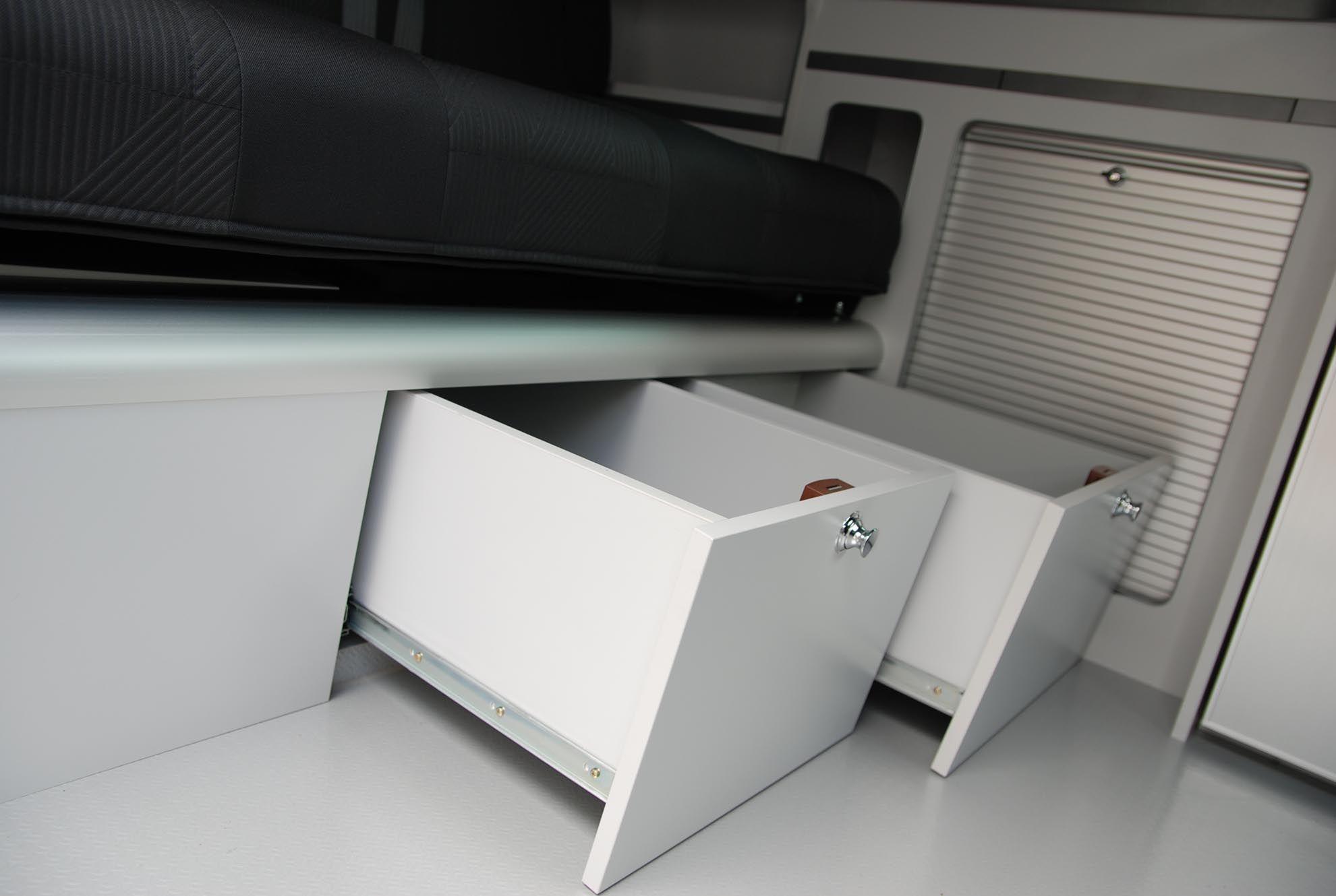 Fourgon aménagé sur Fiat Talento 5 places carte grise | TREK 53 | Hanroad