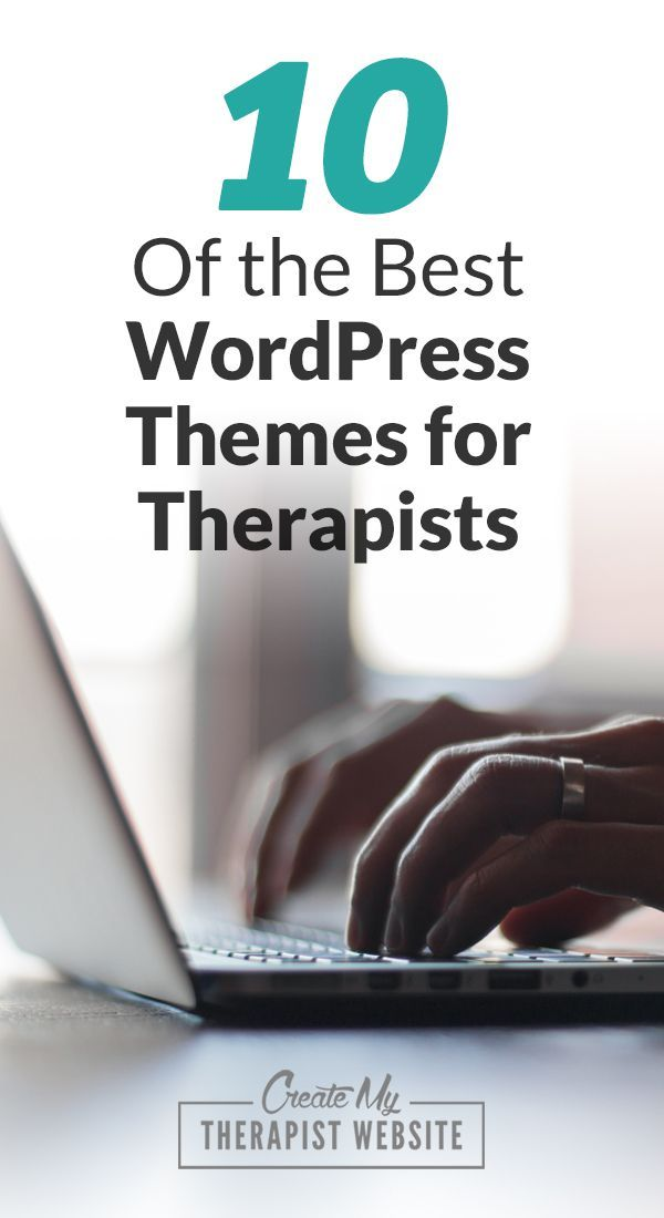 10 of The Best Wordpress Themes for Therapists in 2020 ...