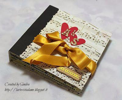 Scrapbookingitalia: Mini album per gli sposi