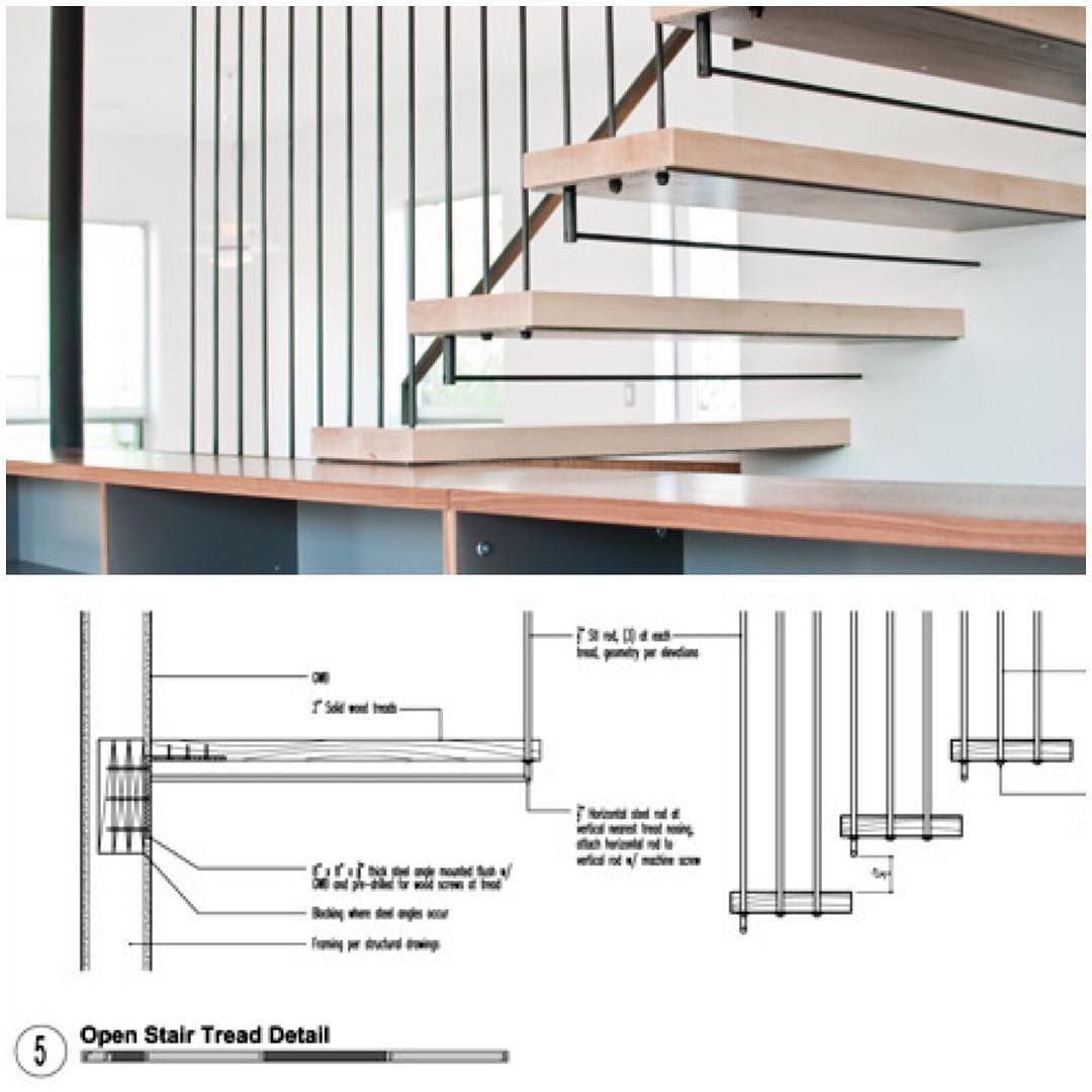 Best Open Tread Maple Stair Cantilevering From The Wall And 400 x 300