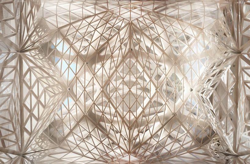 Zaha hadid in macau city of dreams hotel tower under for Arquitectura parametrica pdf