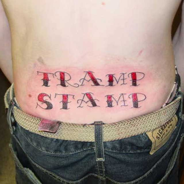 Phoenix Tramp Stamp Tattoos: Pin On Tatouage