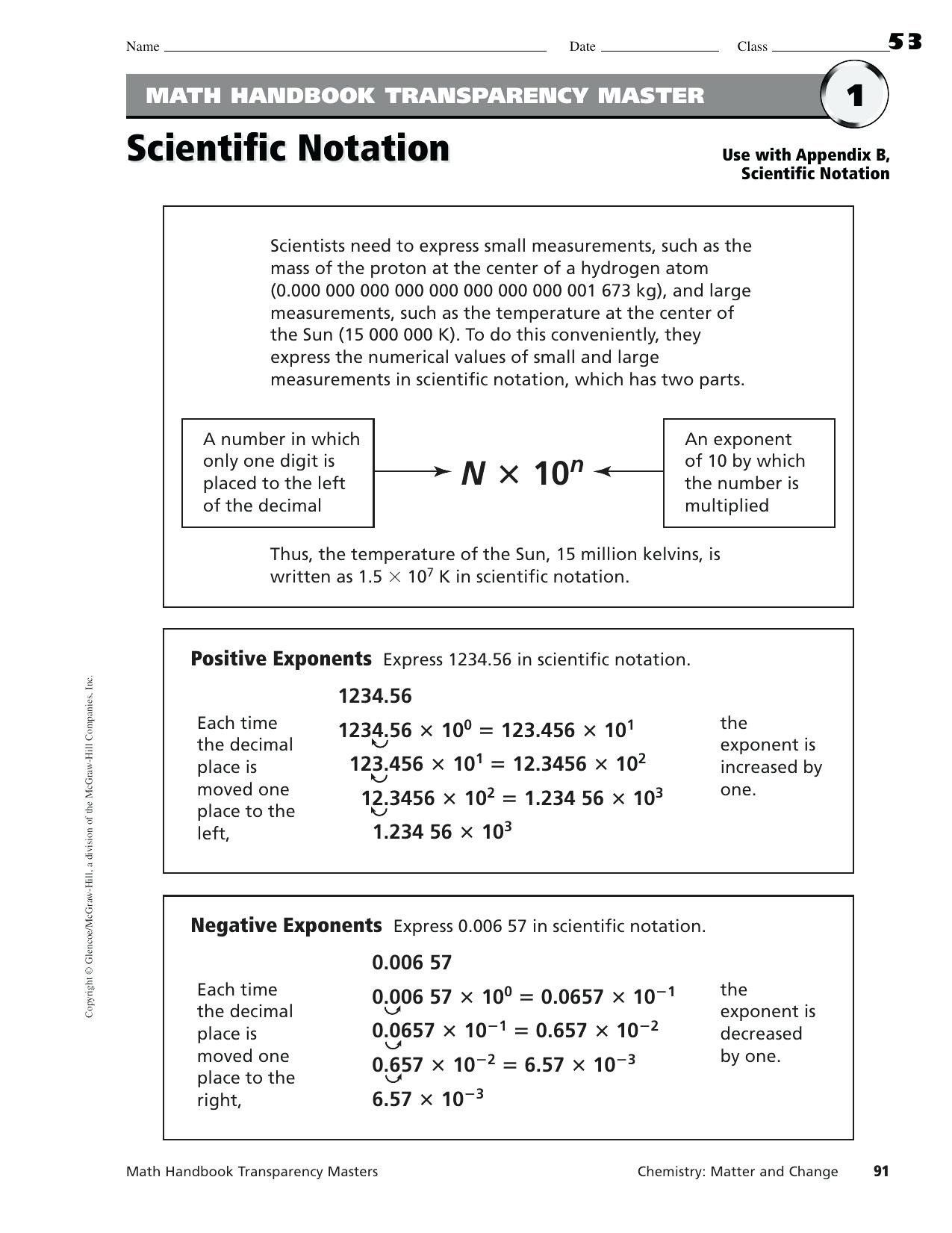 Convert Unit Rates Worksheet Answers Chemistry Conversion Problems Workshee Scientific Notation Scientific Notation Worksheet Scientific Notation Word Problems