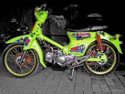GEMILANG STICKER: Modif Honda C70