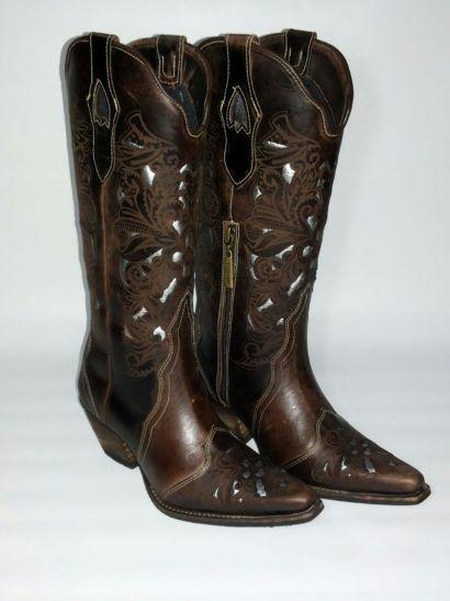 c1fbd09d57 botas country femininas da tucson | Calçados | Bota country, Bota ...