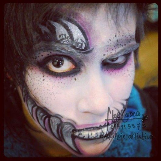 Maquillaje artistico Terror maquillaje artistico Pinterest