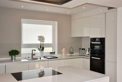 U-Form Küche - 35 Designideen für Ihre moderne Kücheneinrichtung - u förmige küche