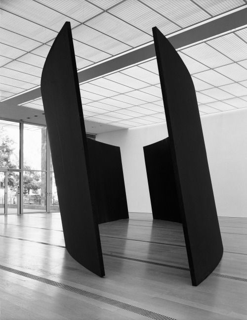 "preciousandfregilethings: ""Richard Serra, Olson, 1986 """