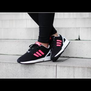 adidas flux noir et rose