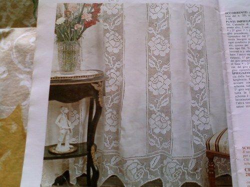 Tutto uncinetto tende donkirbyphotography - Tende di lino per cucina ...