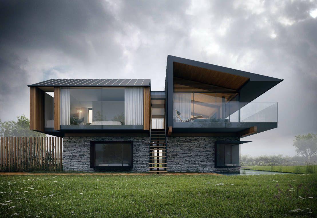 A Casa Do Futuro Homify Homify Architecture Design Maison Moderne Maison Cubique